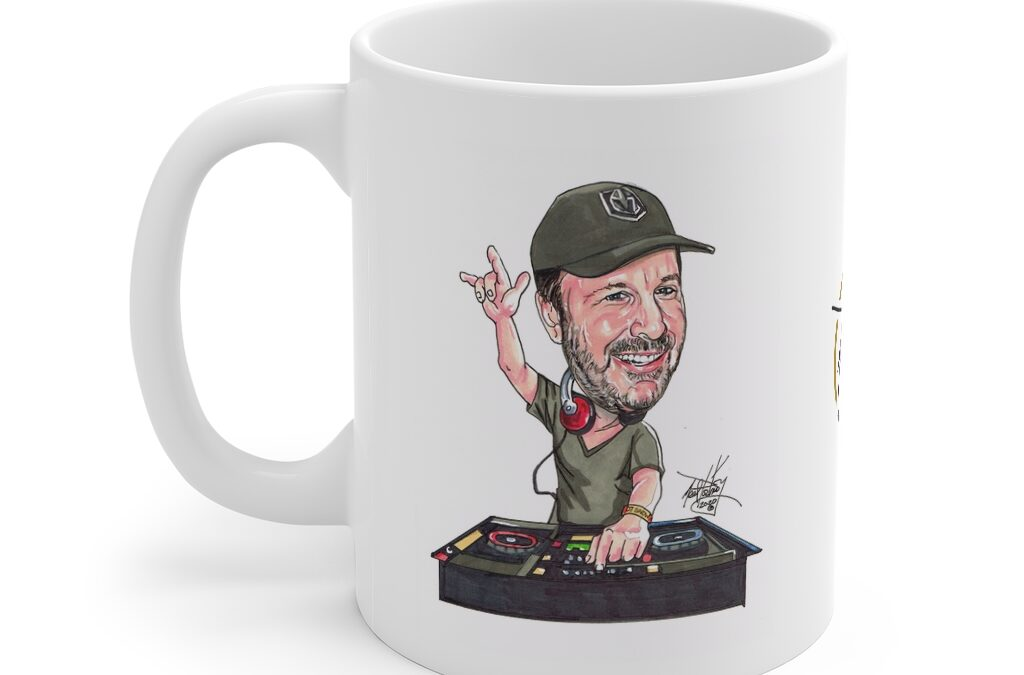 DJ Eric Snow.  Mug 11oz